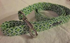Montana Grrl Critter Gear - Green Diamonds Leash